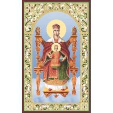 Богородица на троне