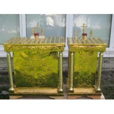 Панихидный стол - 104 свечи