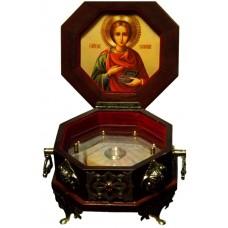 Ковчег для частиц святых мощей на 1 мощевик