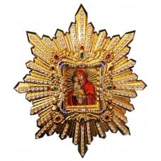 Икона Почаевской Божией Матери 60х70 см