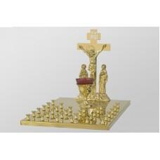 Крышка панихидного стола - 30 свечей