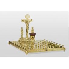 Крышка панихидного стола - 50 свечей