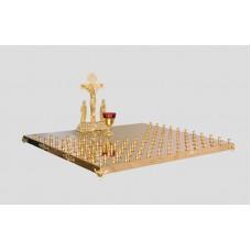 Крышка панихидного стола - 114 свечи