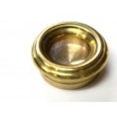 Мощевик круглый (диаметр - 18 мм, латунь, лак)