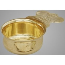 Ковш для теплоты (латунь, золочение)